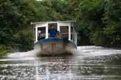 ¡Una Barco con los personas!