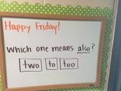 Confusing homophones!