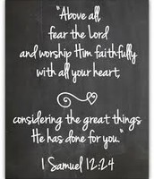 ~1 Samuel 12:24~