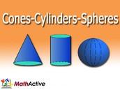 Cones-Cylinders-Spheres