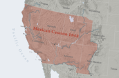1848 - Mexican Cession.
