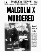 Malcolm's assassination