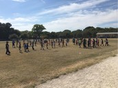 Over 90 Panthers Showed Up For The First Running Club Practice Of The Year!