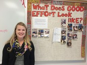 """Reminds students to put forth """"good"""" effort"""