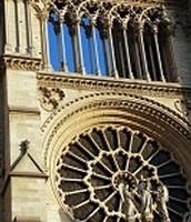Gothic Norte Dame In Paris