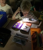 Flashlight reading