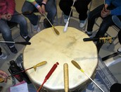 Drum Making Demo & Drum Circle