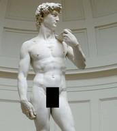 Sculpture of David