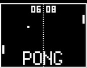 The first video game Pong
