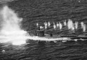 German U Boats in the Atlantic
