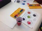 Pre-K Mixing Colors