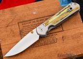 Ivory Inlaid Pocket Knife