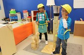 Dramatic Play-Wrecking Ball Construction Site