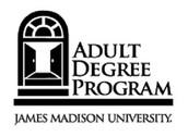 JMU Adult Degree Program