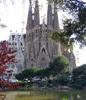 Sagrada Familia actual.