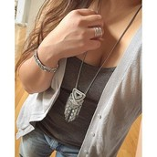 Chiara Pendant necklace, was $84, now $40!! Goes with everything!!