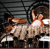 Alex Van Halen's drumset