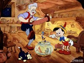 Geppetto the wood carver