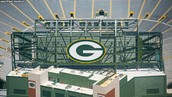 A Part of The Green Bay Packer's Stadium
