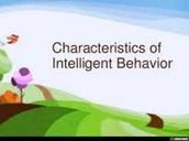 7 Characteristics Of Intelligent Behavior