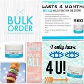 Eye Cream Bulk Order