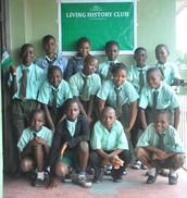 Living History Club members in Kingdom College in Basorun Ibadan