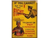 """By giving to the canadian patriotic fund"""