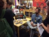 Graphic novelist Andre Frattino visit