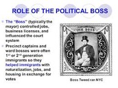 political bosses