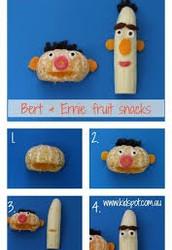Bert & Ernie Fruit Snacks