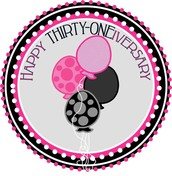 Thirty-One Anniversaries (January - March)
