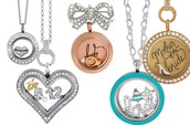 Design a locket for the Bridal Party