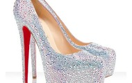 Sparkly Daffodile Pumps.