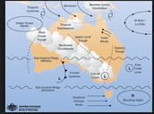Weather Map of Australia