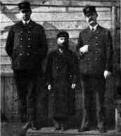 guards at Ellis Island
