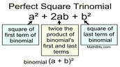 Perfect Square Trinomial