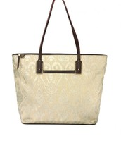 Metallic Ikat Medium Tote, Retail $79  Sample $ 35