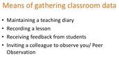 How do effective teachers reflect?