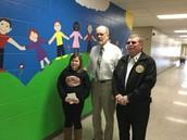 American Legion honors 5th grade girl