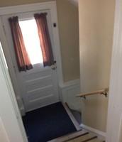 Backdoor entrance