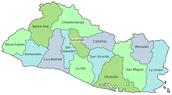 Map of El Salavador