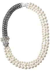 Daisy pearl necklace- versatile $40