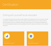 Google Educator Certifications