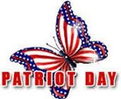 Patriot Day Ceremony - Sept. 12 @ 8:15