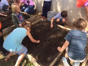 Planting our Pollination Garden