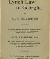 Georgia lynching article