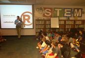 Arduino Expert talks with 4th grade