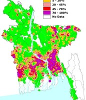 Arsenic Contamination Map