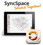 SyncSpace: Sketch Together
