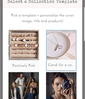 Select a collection template